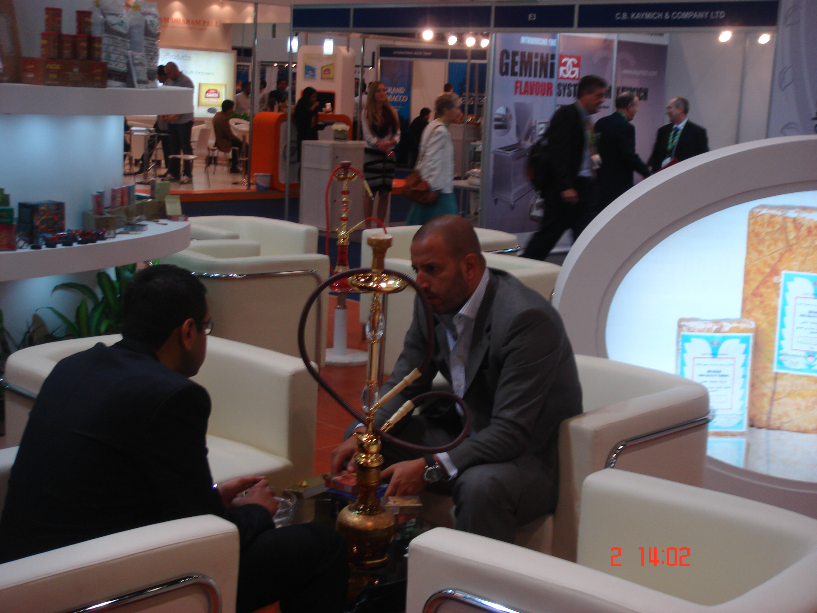 TOBACCO MIDDLE EAST 2012 DUBAIUAE