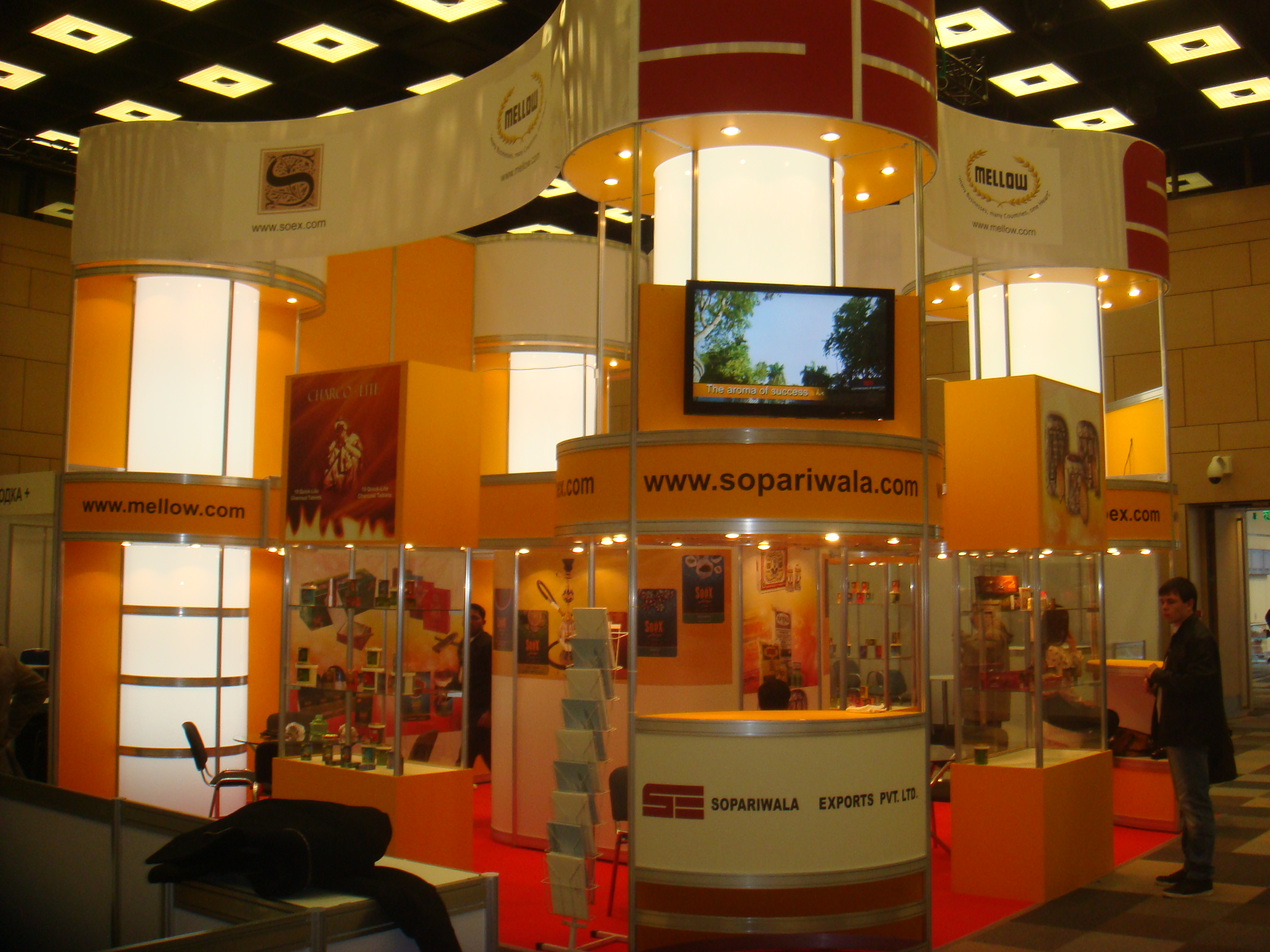 TABAK EXPO 2013 MOSCOW RUSSIA