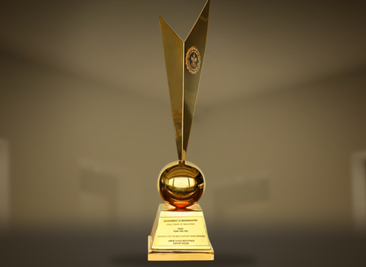 Award from Government of Maharashtra 90 91