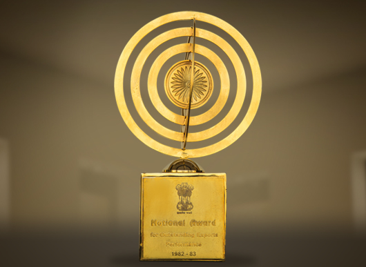 National Award for Outstanding Exports Performance 1982-1983
